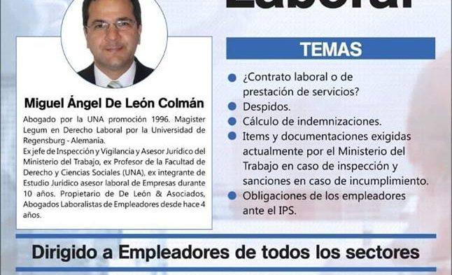 Charla sobre Legislación Laboral
